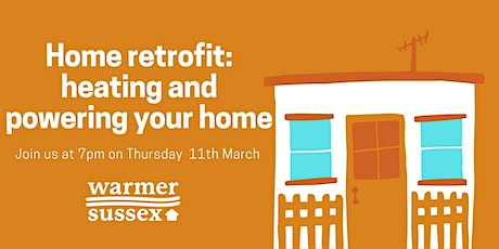 Home retrofit: heating and powering your home tickets