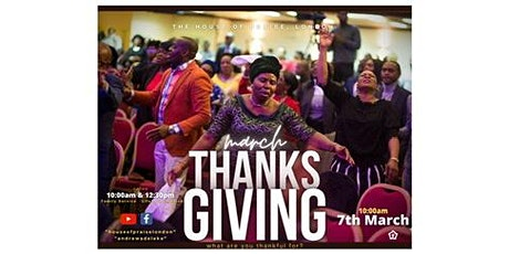 Month of Good Success | Thanksgiving Service tickets