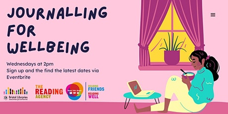 Reading Friends:  Journalling for Wellbeing tickets