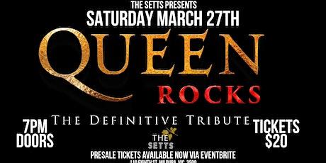 Queen Rocks - Definitive Tribute Setts Mildura tickets