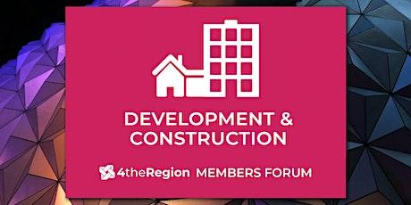 Development & Construction Member Forum tickets