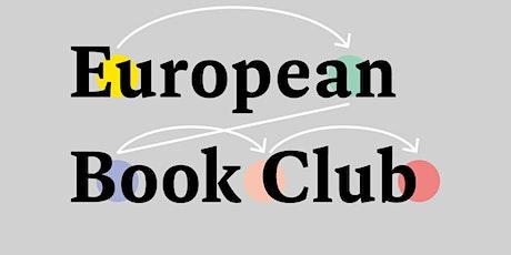 European Book Club. Andrés Barba tickets