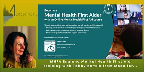 Mental Health First Aid (MHFA England) - Adult Mental Health First Aid tickets