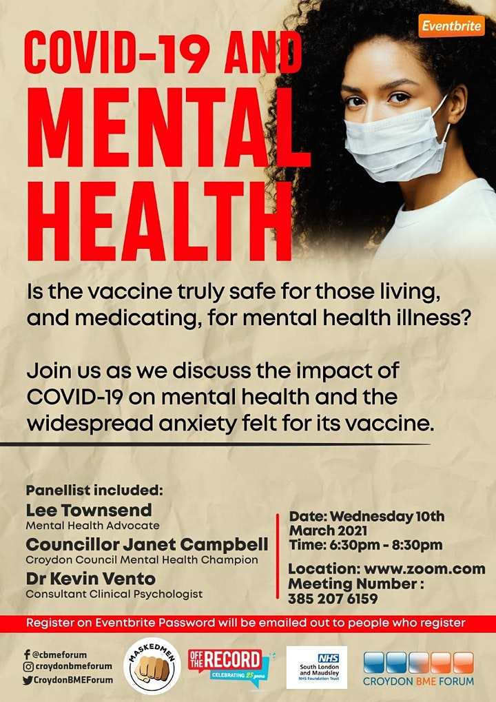 Covid-19 and Mental Health image