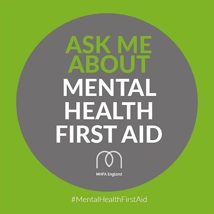 Mental Health First Aid (MHFA England) - Adult Mental Health First Aid image