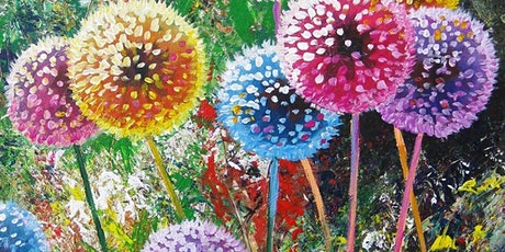 Paint and Sip at Home 'Colourful Dandelions' tickets