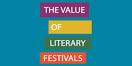 The Value of Literary Festivals - a Webinar tickets