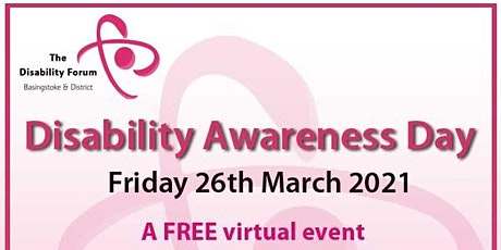 BDDF Disability Awareness Day - Virtual Event tickets