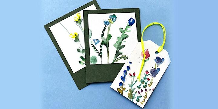 Online-Workshop | Florale Aquarelle | Für 8- bis 14-Jährige: Bild