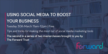 Using Social Media to Boost Your Business tickets