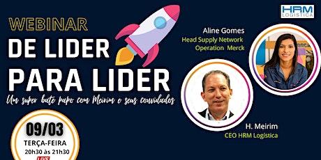 De Líder para Líder 01 - A força da liderança feminina ingressos