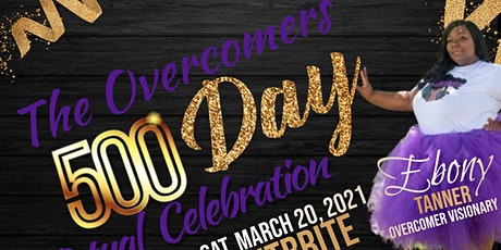 Overcomers 500 Day Virtual Celebration tickets