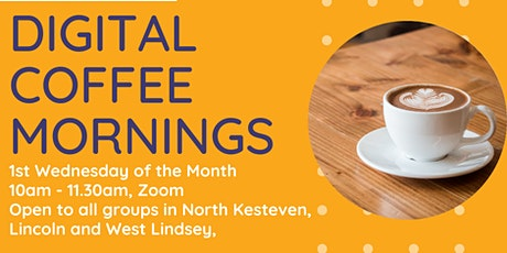 Voluntary Centre Services Presents Digital Coffee Morning tickets