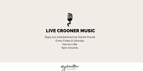 Live Crooner Music @ Harvey's Bar tickets