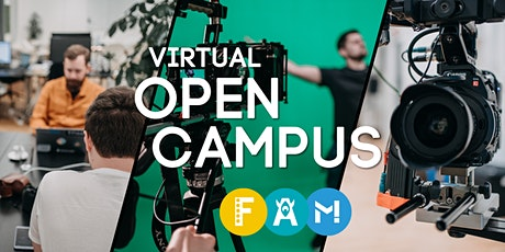 Virtual Open Campus Week: #Film  #Content Creation Tickets