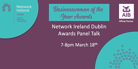 Network Ireland Dublin Awards Panel Talk tickets
