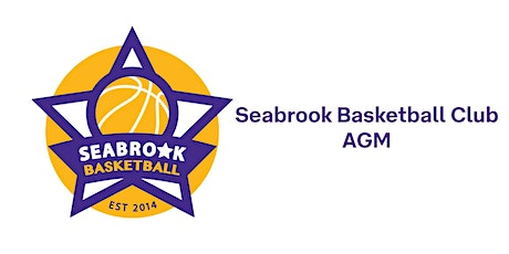 Seabrook Basketball Club AGM tickets