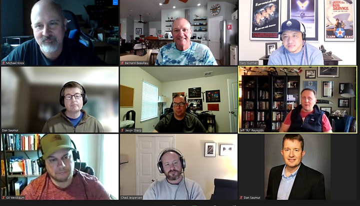 PostMilitary - Monthly Participant Driven Virtual Career Networking Meetup image