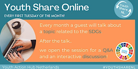 Youth Share Online - Talking about a Sustainable Development Tickets