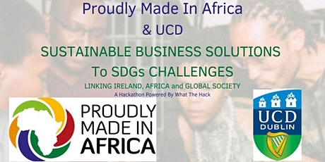 SUSTAINABLE BUSINESS SOLUTIONS TO SDG CHALLENGES tickets