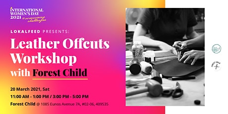 Leather Offcuts Workshop with Forest Child tickets