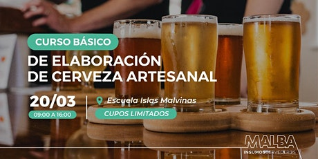 Curso de Elaboración de Cerveza Artesanal entradas