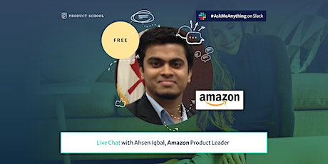 Live Chat with Amazon Product Leader ingressos