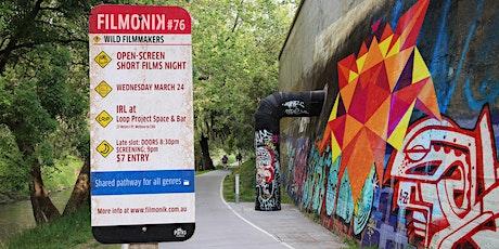 Filmonik Melbourne Short films night #76 tickets