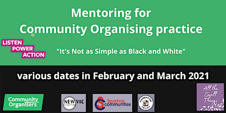 Mentoring Group for Community Organising Practice tickets