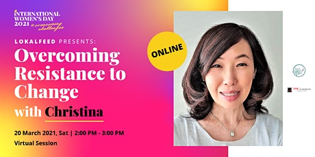 [Online] Overcoming Resistance to Change with Christina tickets