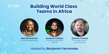 Building World Class Teams in Africa tickets