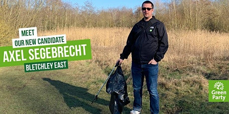 Meet Axel - your local Green party campaigner tickets