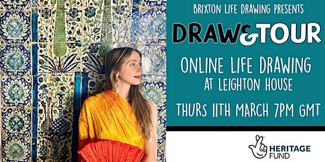 DRAW & TOUR - Online Life Drawing at Leighton House tickets
