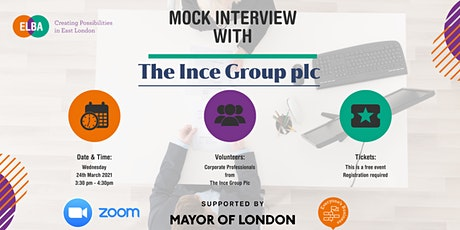 Mock Interview with The Ince Group Plc tickets