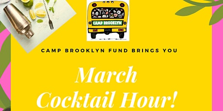 Camp Brooklyn Fund Mixology - Cocktail Hour tickets