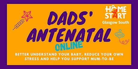 Dads' Antenatal Workshop - ONLINE - GLASGOW - August tickets