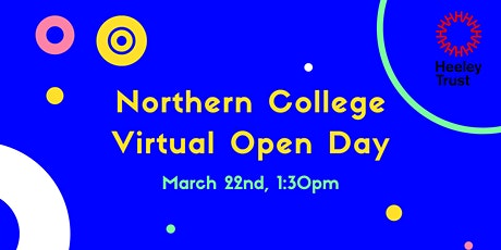 Northern College Virtual Open Day tickets
