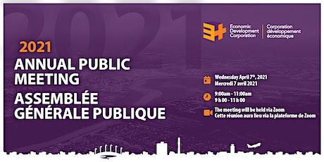 2021 Annual Public Meeting / Assemblée Générale Publique tickets
