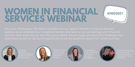 Women in Financial Services Webinar tickets
