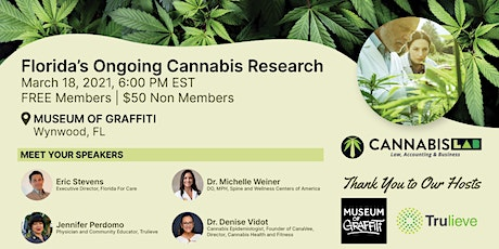 Florida's Ongoing Cannabis Research tickets