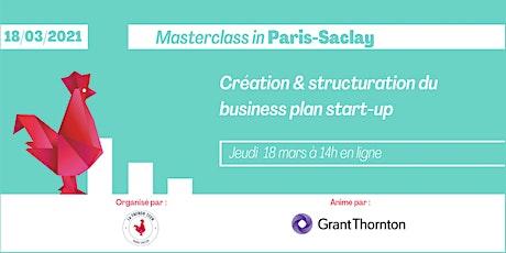 Création et structuration du business plan - Masterclass in Paris-Saclay billets