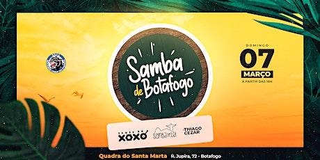 Samba de Botafogo ingressos