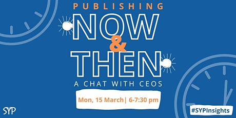 Publishing: Now and Then tickets