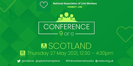 Social Prescribing Link Workers Conference-Scotland tickets