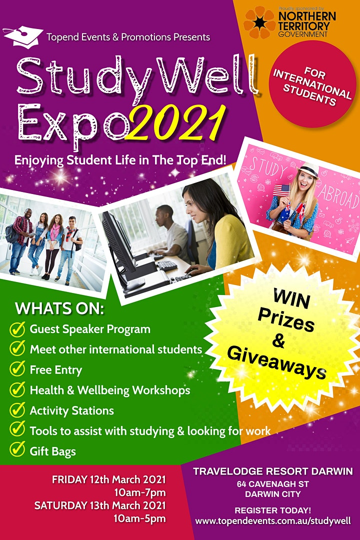 StudyWell Expo 2021 for International Students image