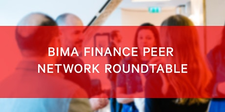 BIMA Finance Roundtable tickets