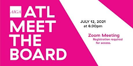 AIGA ATL Meet the Board – July 2021 tickets