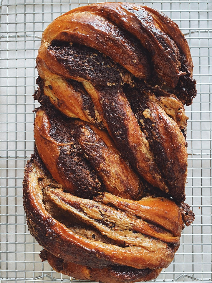 Online Baking Workshop - Babka two ways (Chocolate and Cinnamon)! image