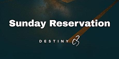 DestinyC3   07th March 2021   Sunday Celebration tickets