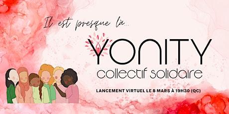 YONITY : Lancement de notre collectif solidaire billets